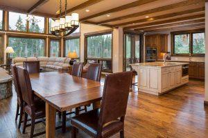 4 OClock Custom Home Dining Room