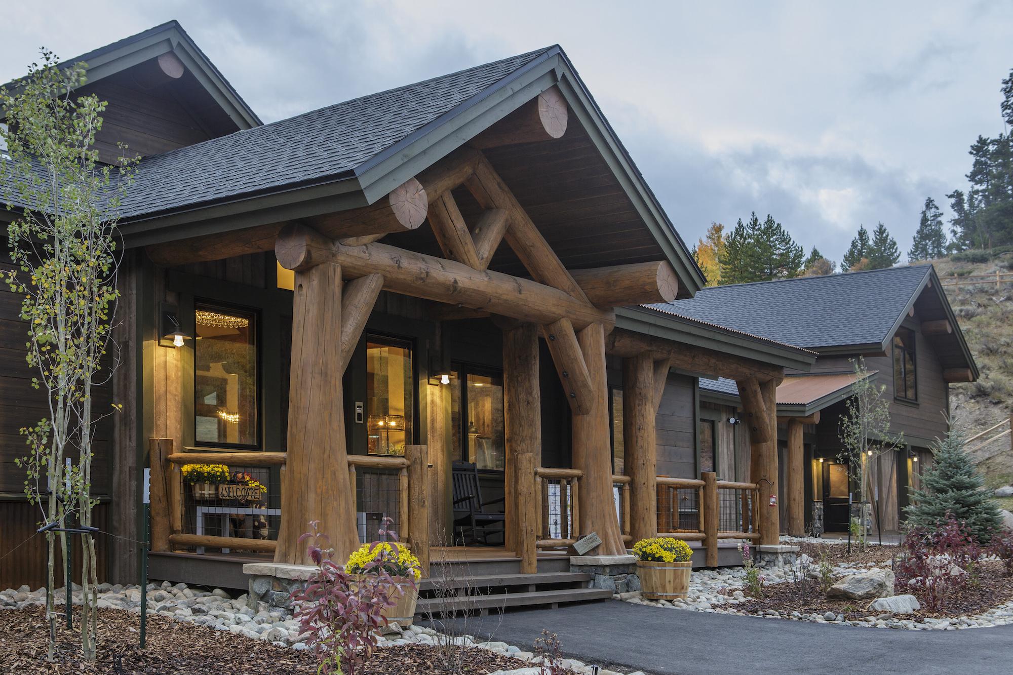 Ptarmigan Home Entry