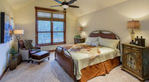 Alders Custom Home Bedroom