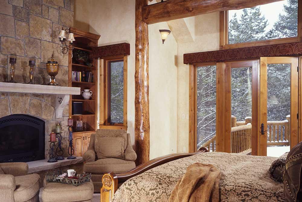 Blue River Custom Home Master Bedroom