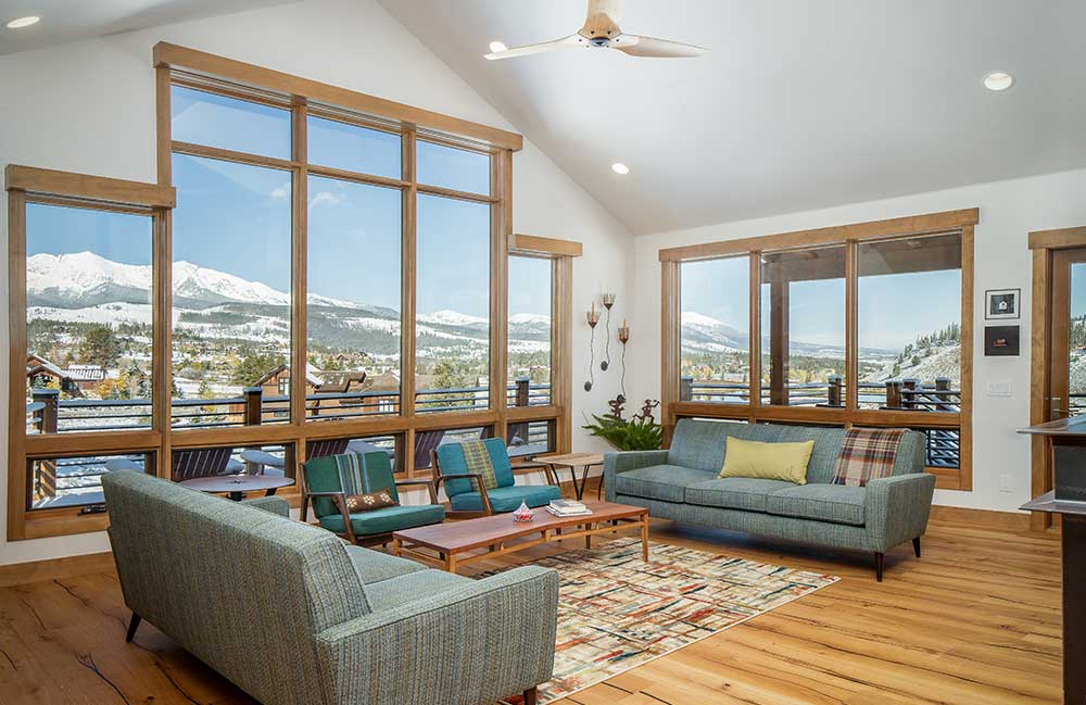 Breckenridge Highlands Custom Home Great Room