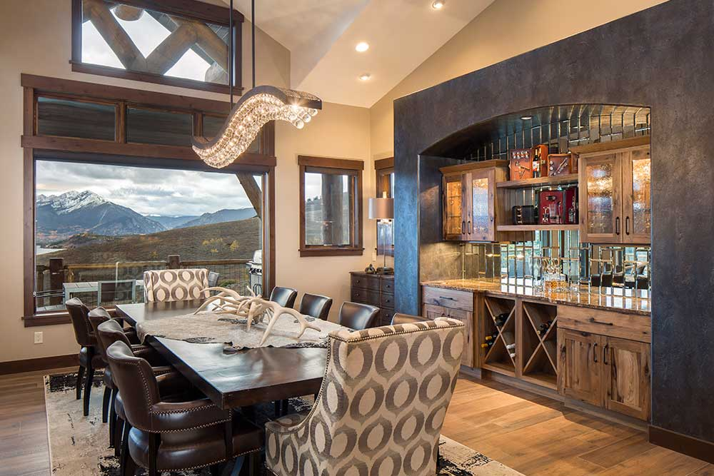 Ptarmigan Home Dining Room