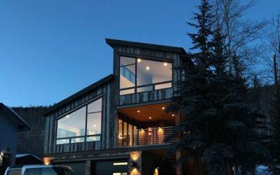 Finished residential addition at Loveland Pass Village, Keystone