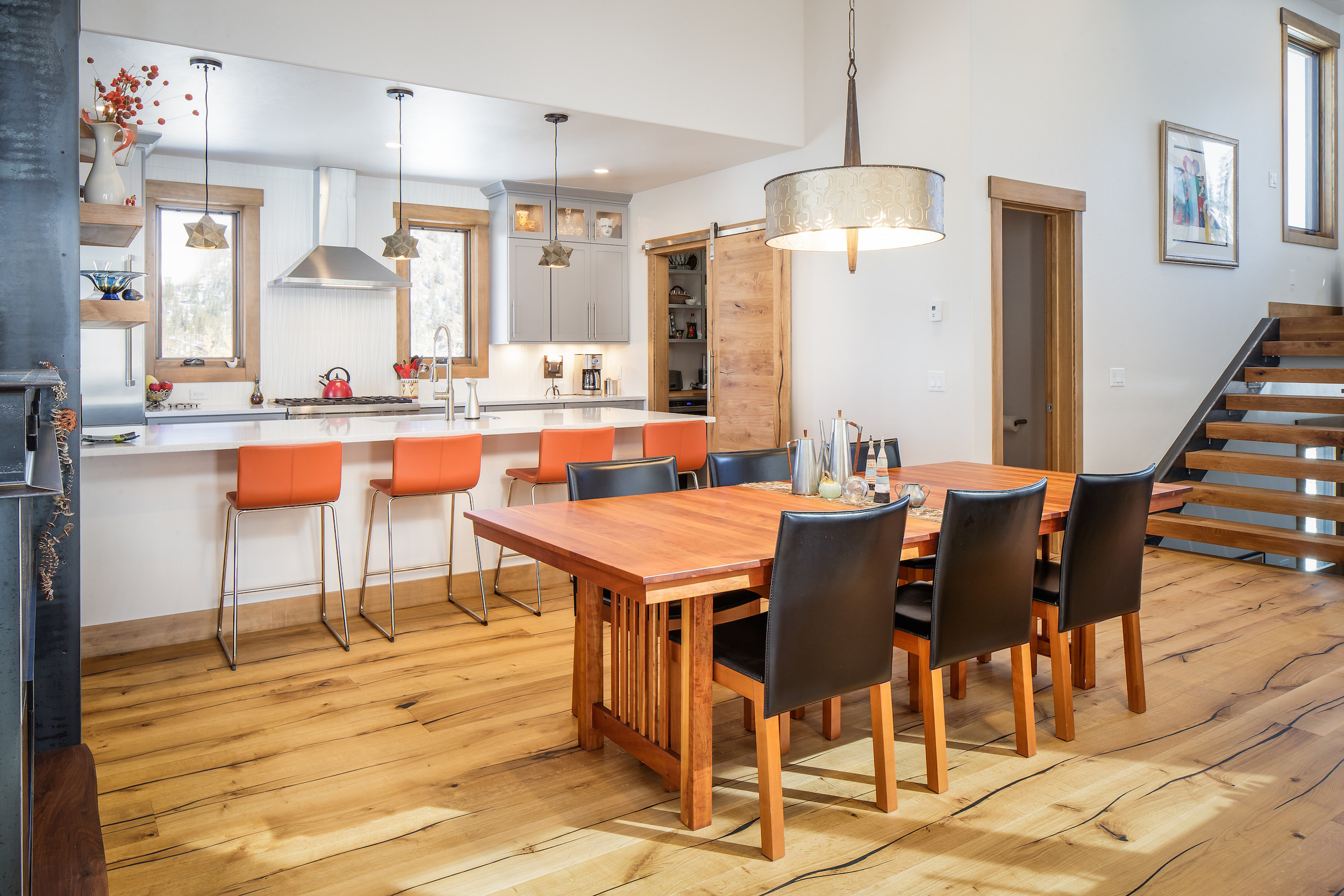 Breckenridge Highlands Dining and Kitchen