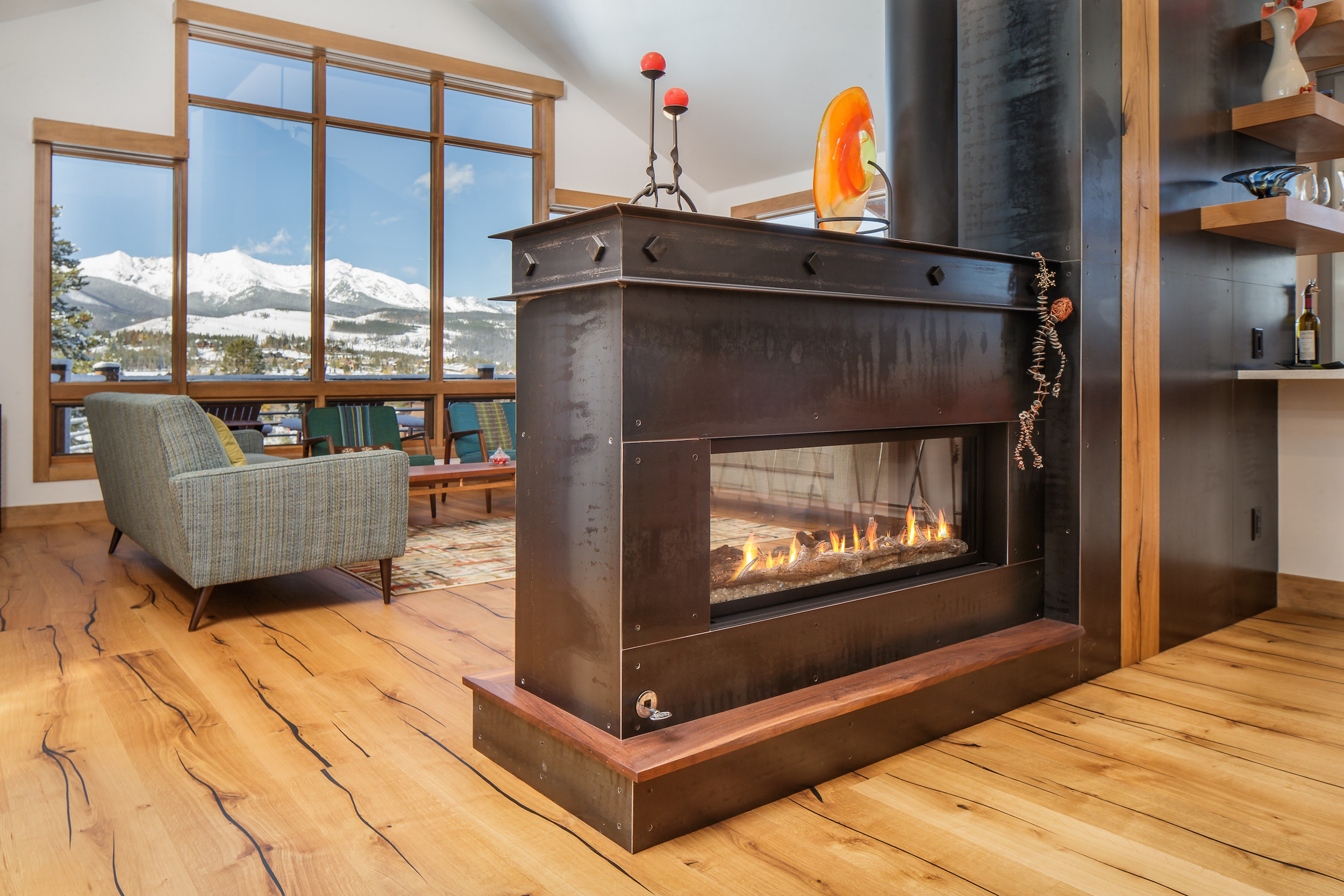 Breckenridge Highlands Fireplace