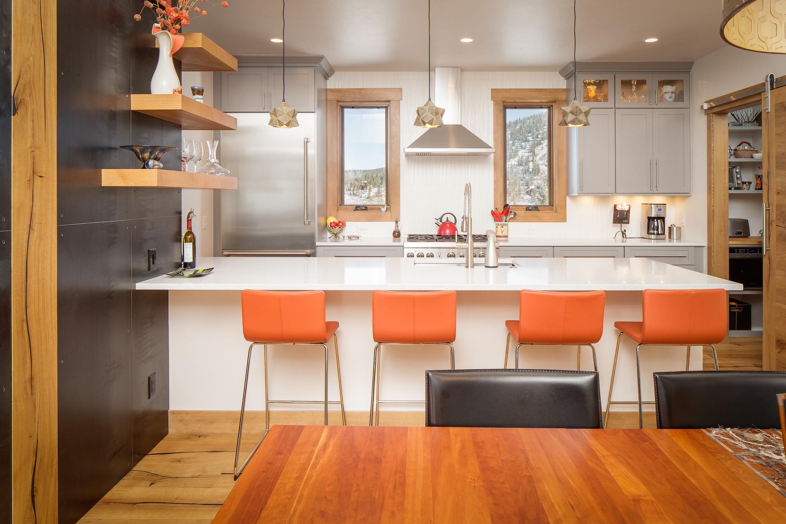 Breckenridge Highlands Kitchen Island