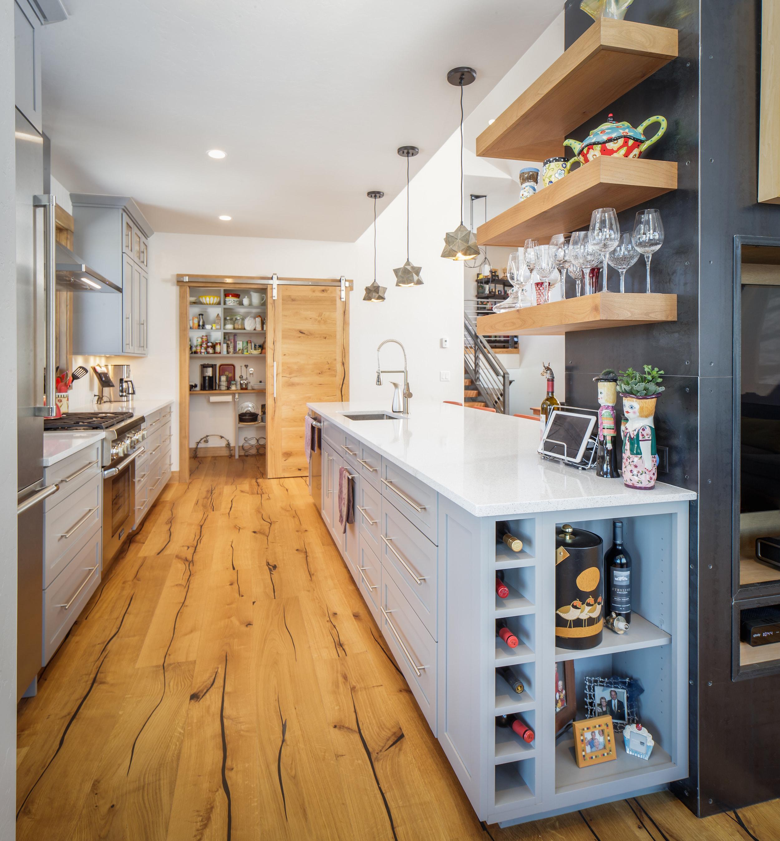 Breckenridge Highlands Modern Kitchen
