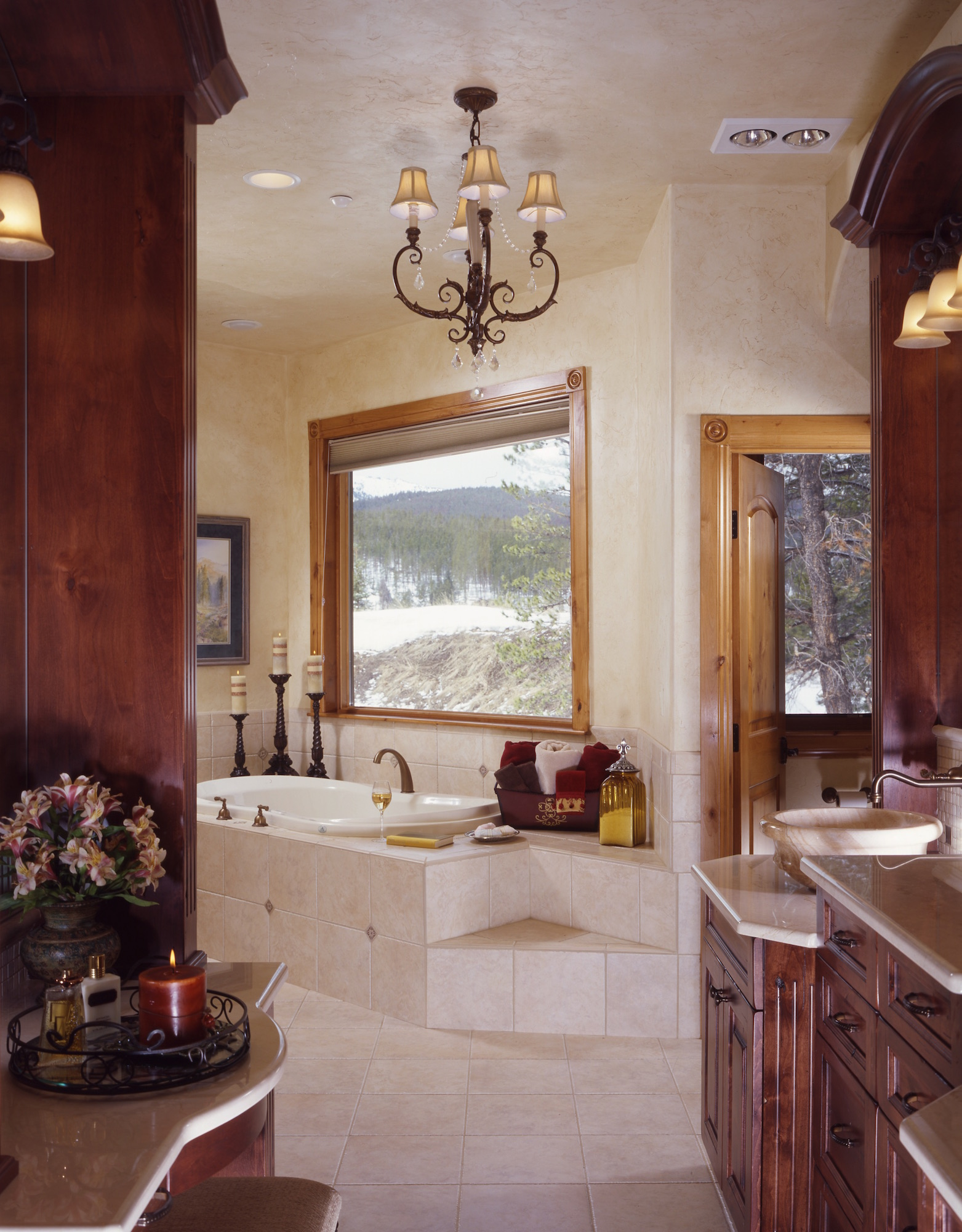 Blue River Home Master Bath