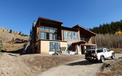 Angler Mountain Ranch custom home